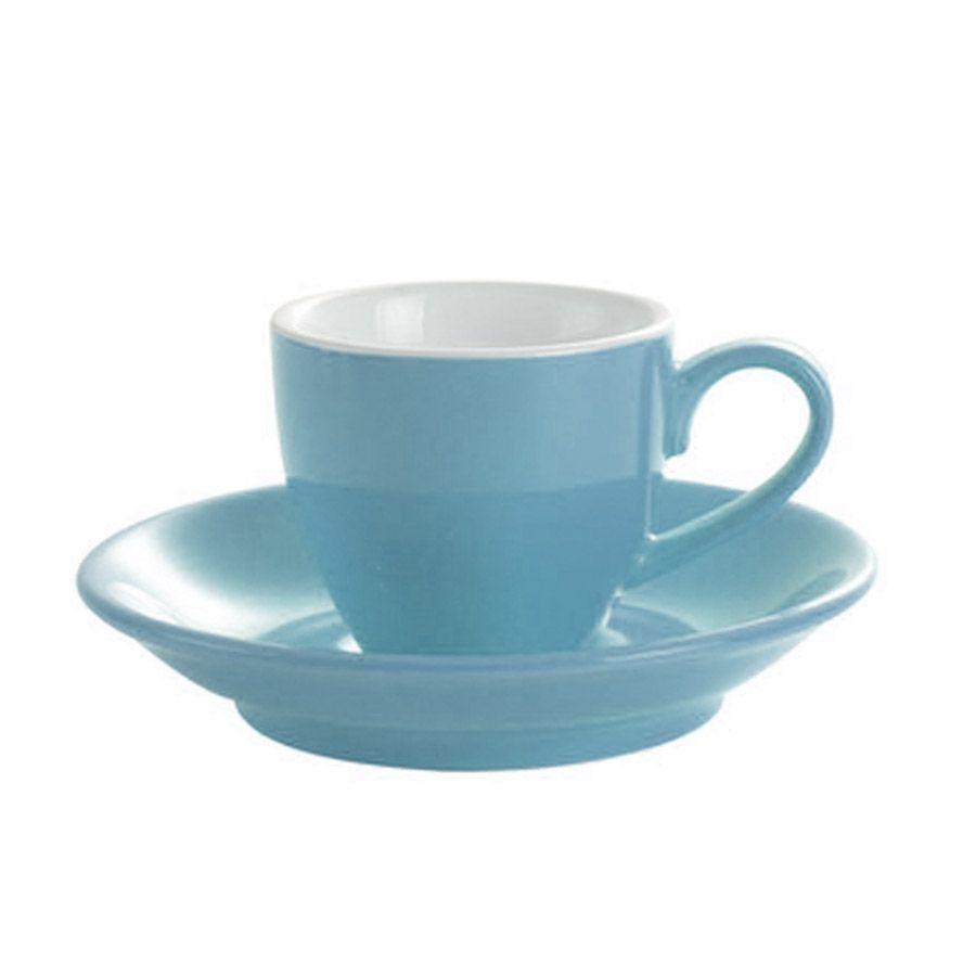 Šálka na espresso Kaffia 80ml - nebesky modrá