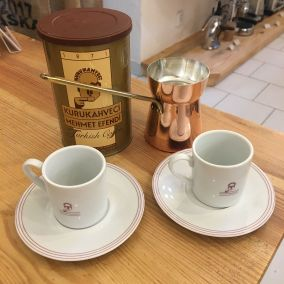 Turkish set (jazz 250ml, Efendi coffee 250g, 2 cups)