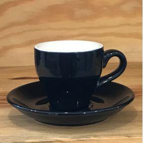 Šálka na espresso Kaffia 80ml - tmavo modrá