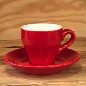 Kaffia espresso cup 80ml - red