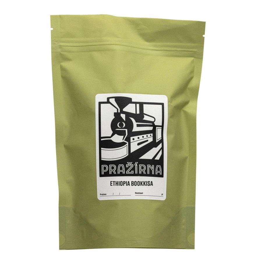 Kavárna Pražírna Ethiopia Bookkisa 250g