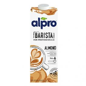 Alpro almond drink for...