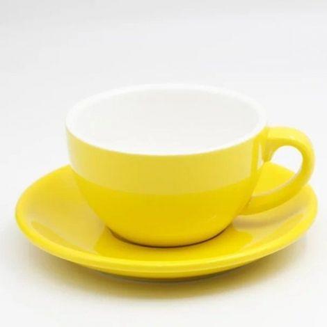 Cappuccino cup Kaffia 220ml - yellow