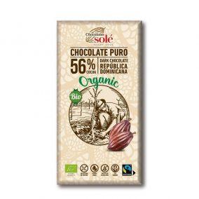 Csokoládé Solé - 56% bio...