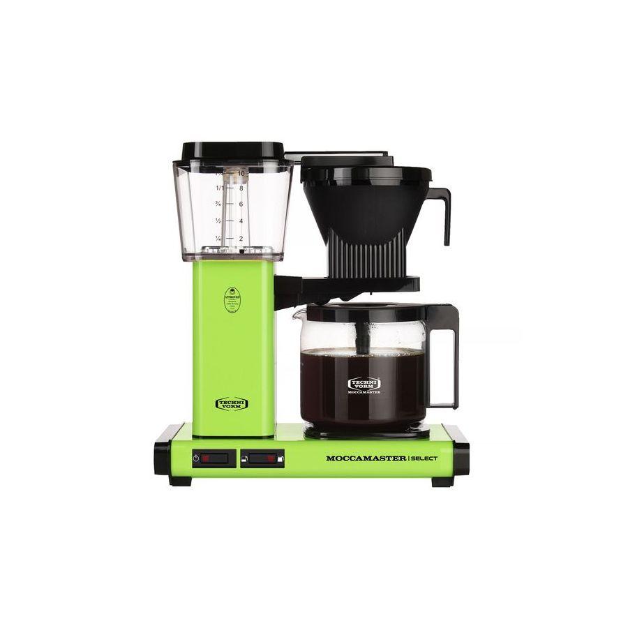 Moccamaster KBG Select FRESH GREEN coffee machine