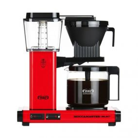 Moccamaster KBG Select RED coffee machine