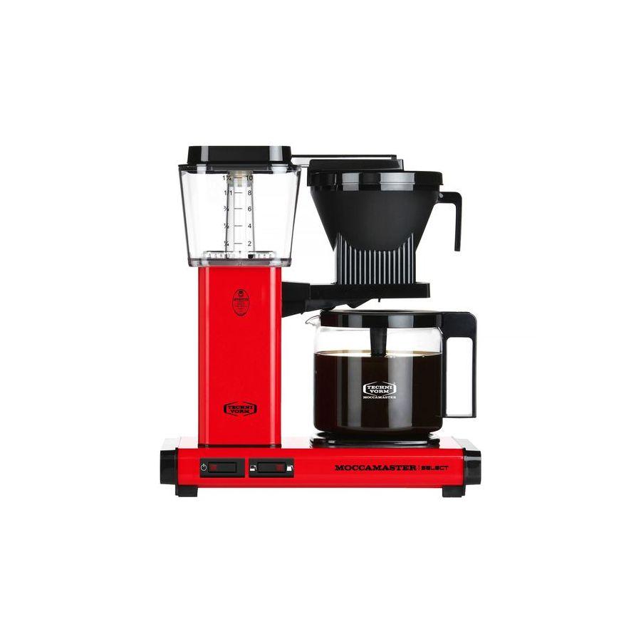Moccamaster KBG Select RED kávéfőző