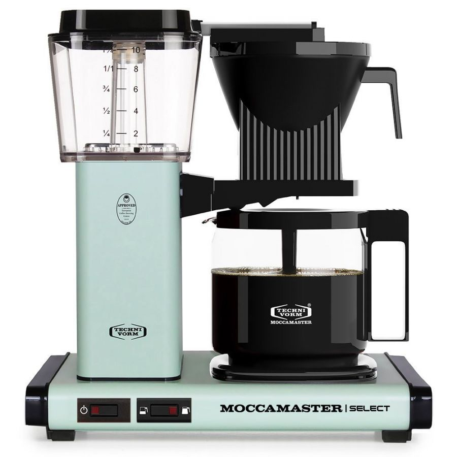 Moccamaster KBG Select PASTEL GREEN coffee machine