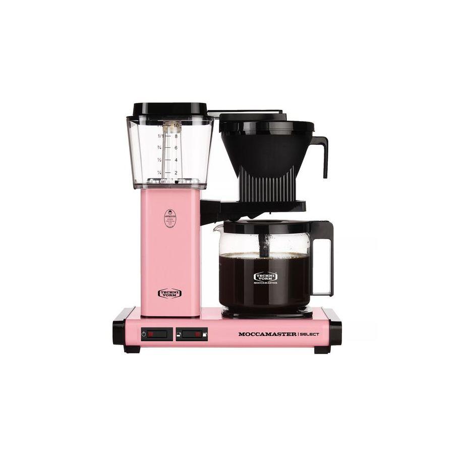 Moccamaster KBG Select PINK coffee machine