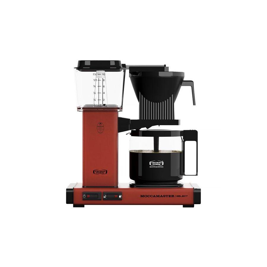Kávovar Moccamaster KBG Select BRICK RED