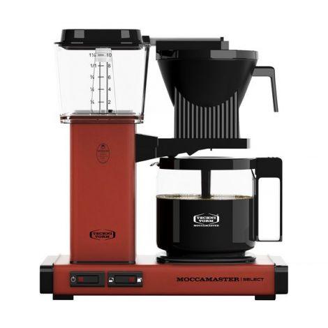 Moccamaster KBG Select BRICK RED kávéfőző