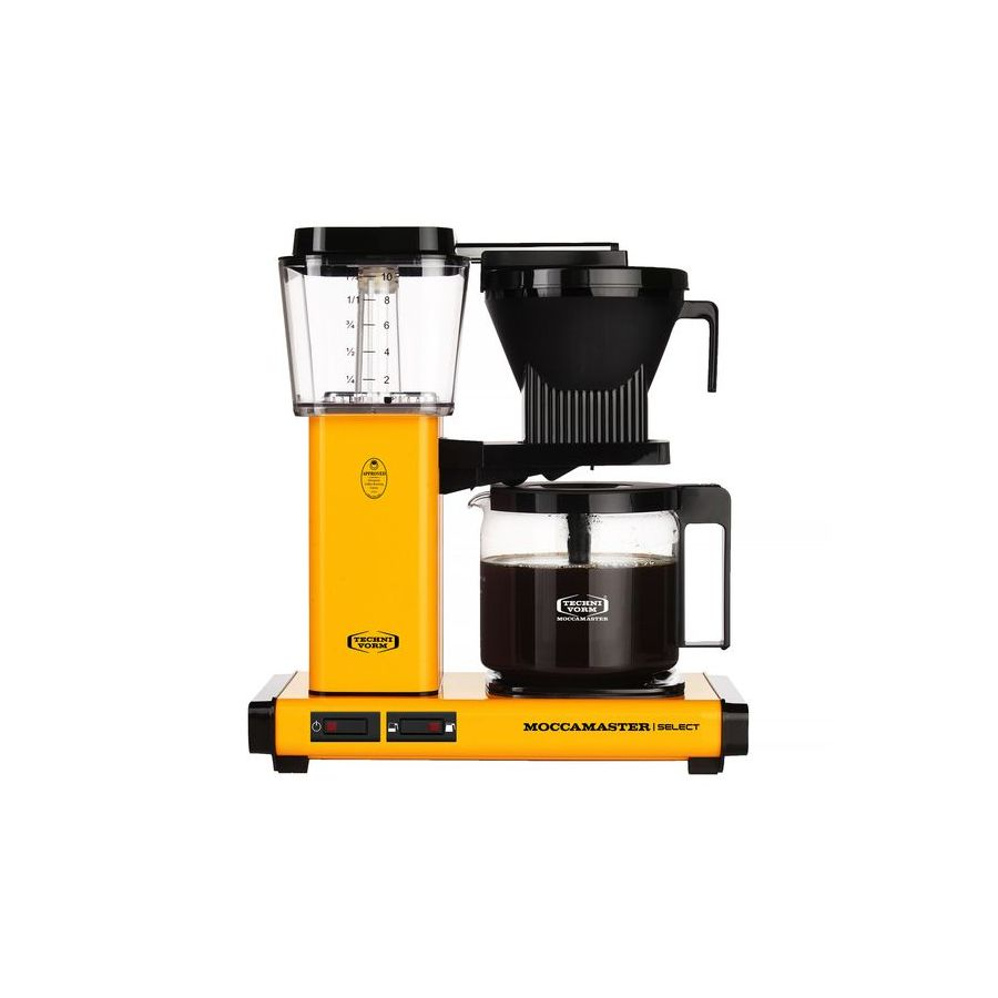 Moccamaster KBG Select YELLOW PEPPER coffee machine