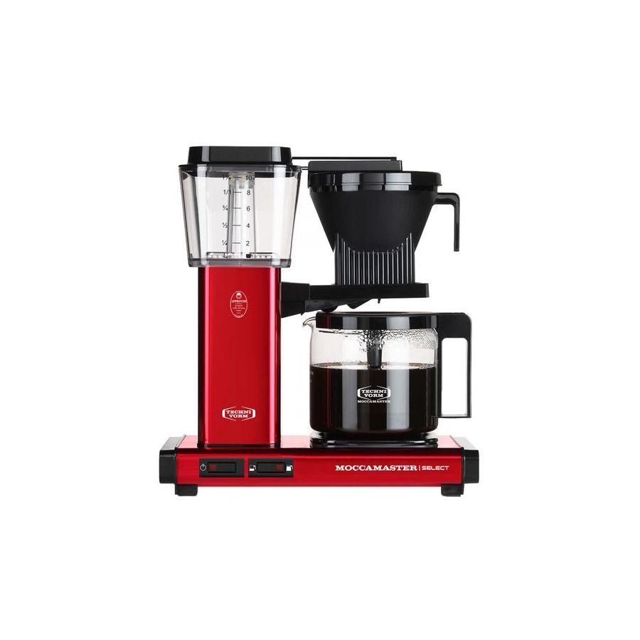 Moccamaster KBG Select METALLIC RED coffee machine