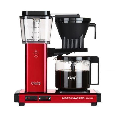 Moccamaster KBG Select METALLIC RED kávéfőző