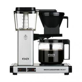 Moccamaster KBG Select MATT SILVER coffee machine