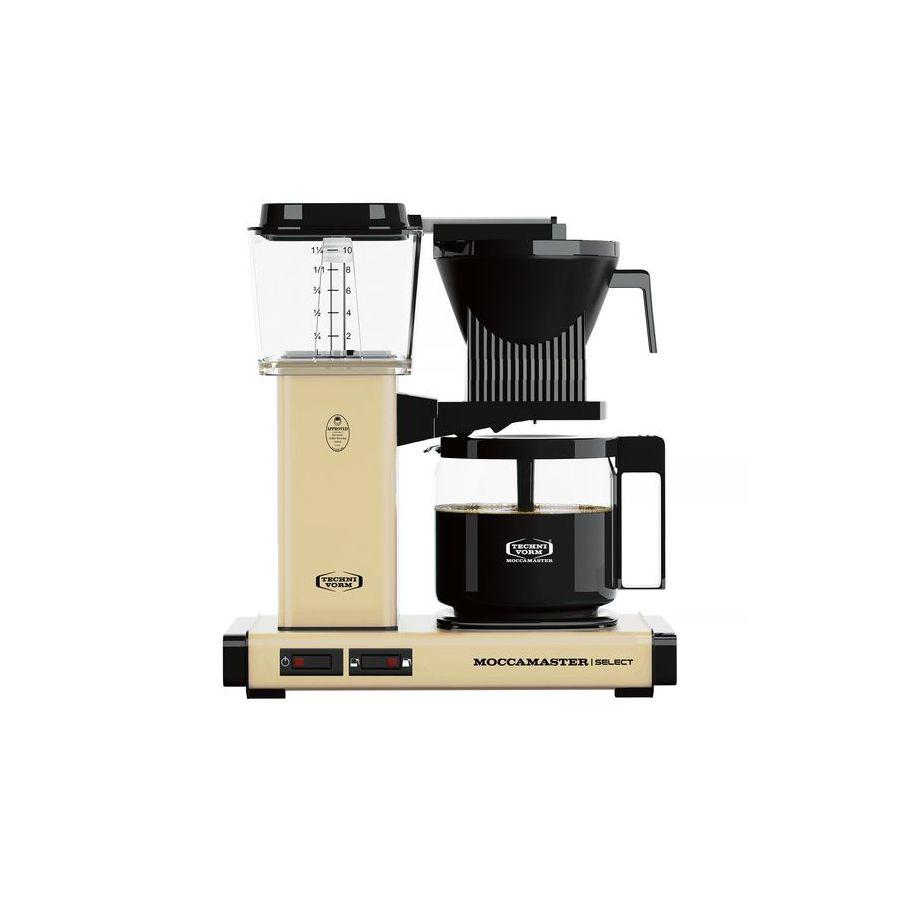 Moccamaster KBG Select PASTEL YELLOW coffee machine