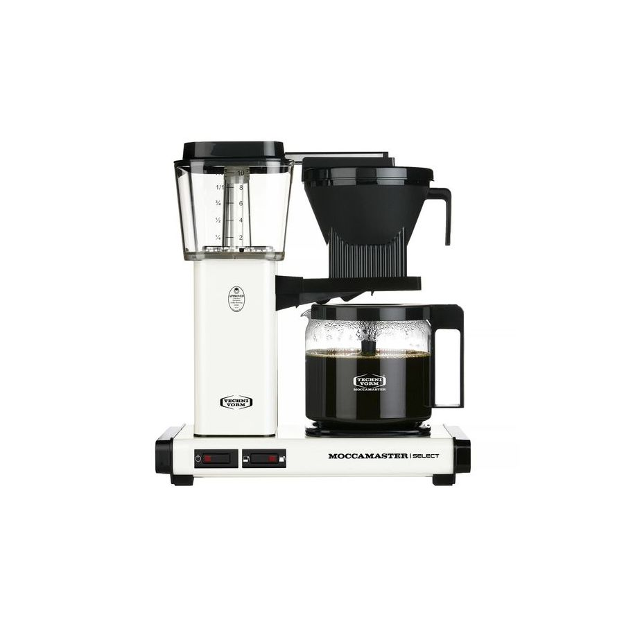 Moccamaster KBG Select OFF-WHITE coffee machine