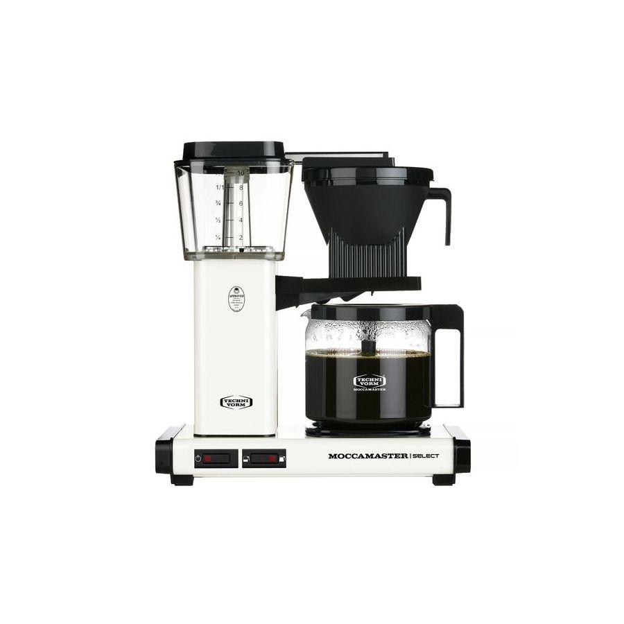 Moccamaster KBG Select OFF-WHITE kávéfőző