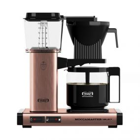 Moccamaster KBG Select COPPER coffee machine