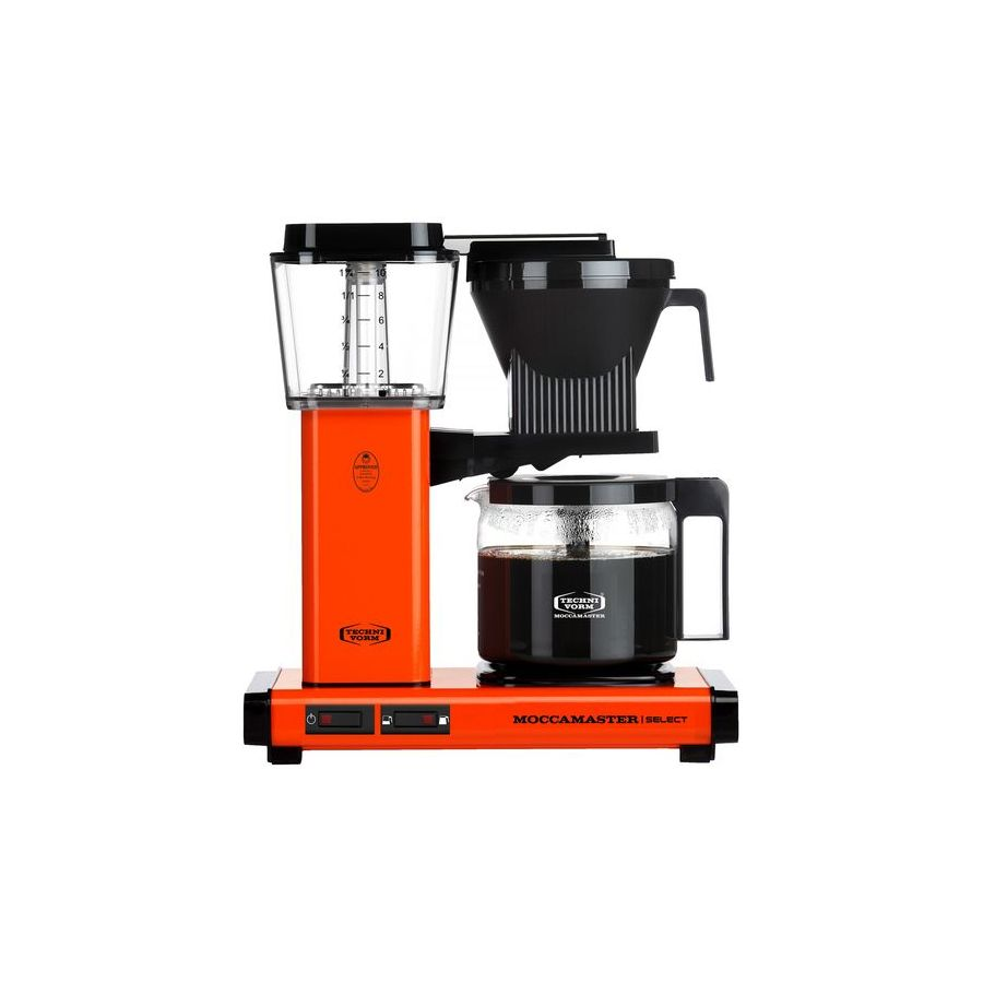 Moccamaster KBG Select ORANGE coffee machine