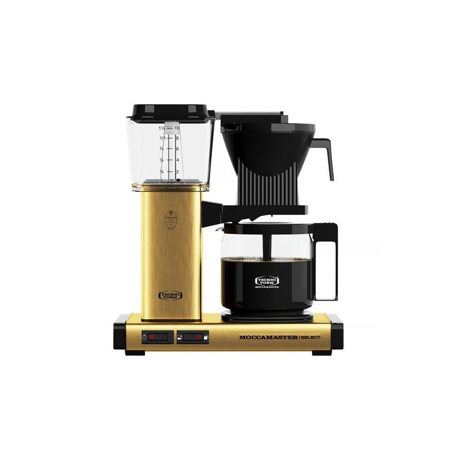 Moccamaster KBG Select BRUSHED BRASS kávéfőző