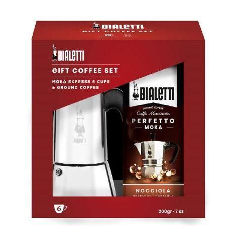 Bialetti Venus 6, indukce + káva (dárkové balení)