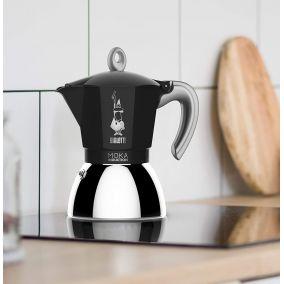 Bialetti Moka Induction 2 cups black NEW