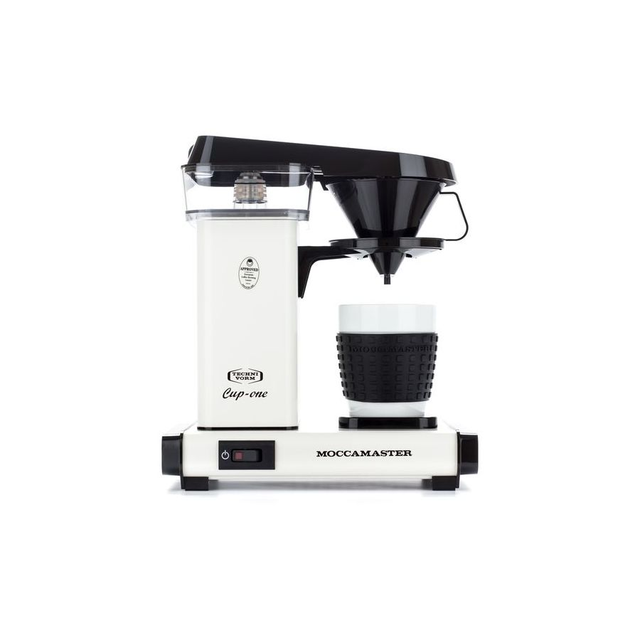 Moccamaster One Cup Technivorm white