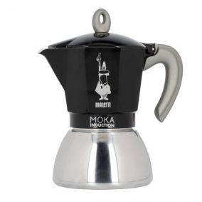 Bialetti Moka Induction 6 cups black NEW