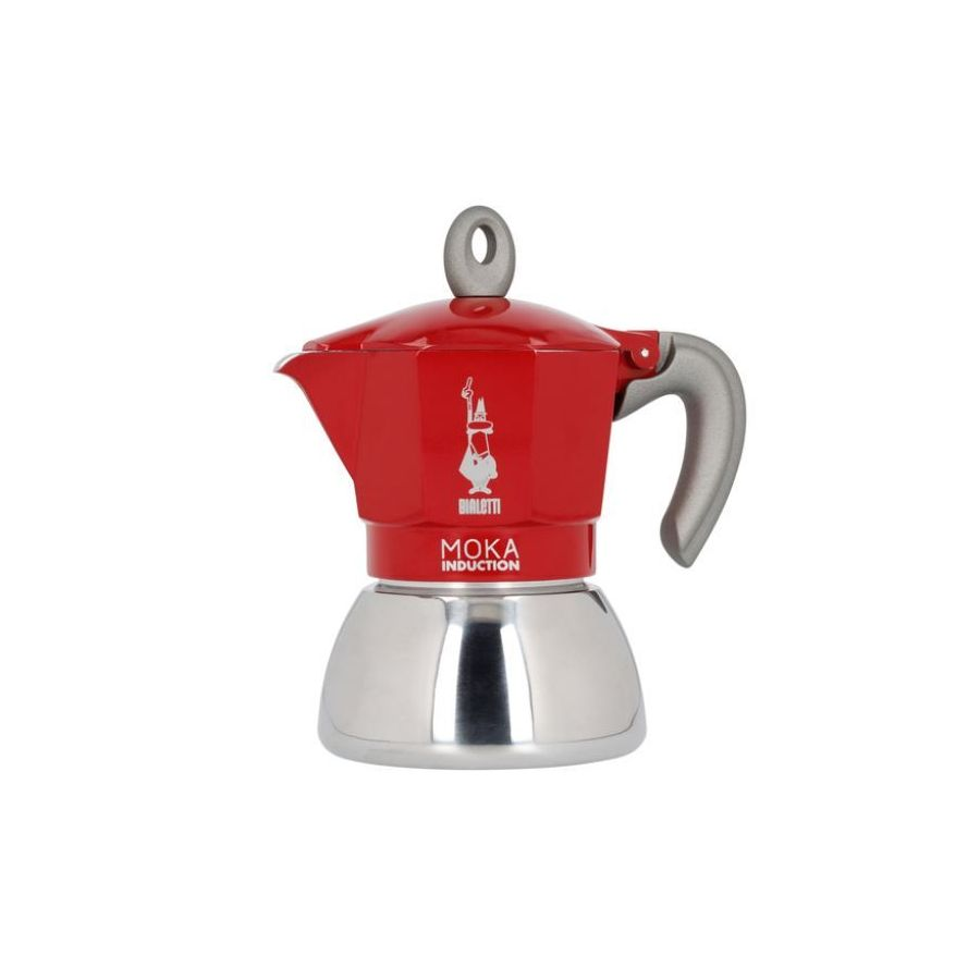 Bialetti Moka Induction 4 cups red NEW
