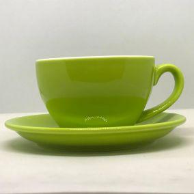 Šálka na cappuccino Kaffia 220ml - limetková
