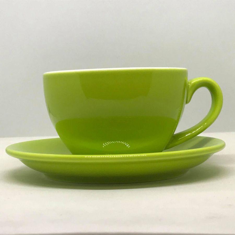 Šálek na cappuccino Kaffia 220ml - limetková