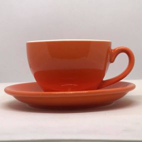 Cappuccino cup Kaffia 220ml - orange