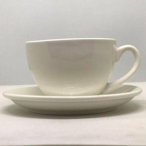 Šálek na cappuccino Kaffia 220ml - bílá