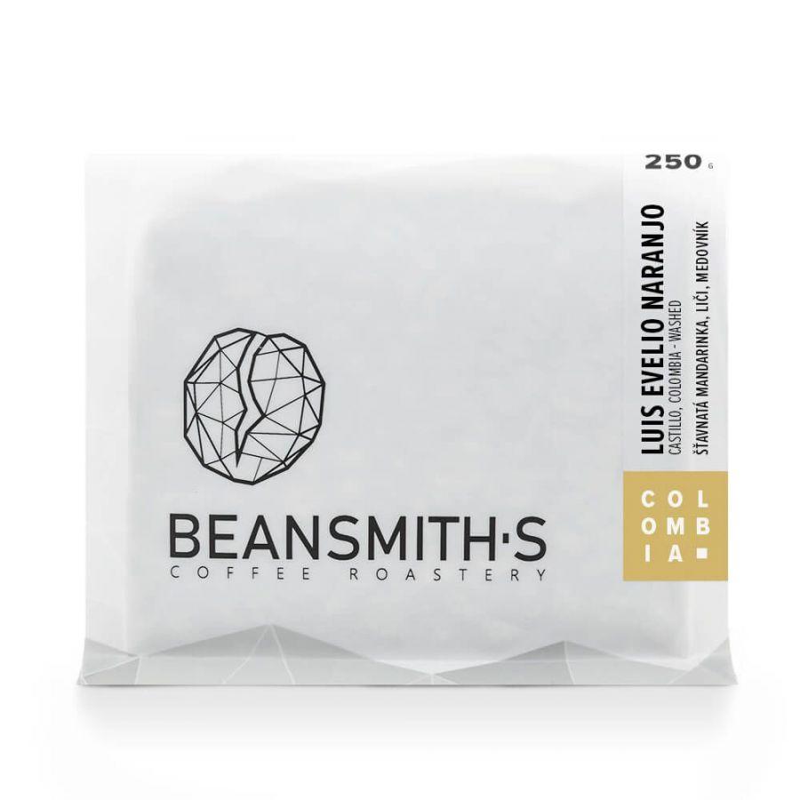 Beansmiths Kolumbie Luis Evelio Naranjo, 250g