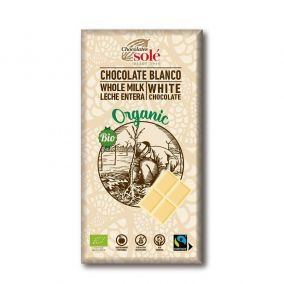 Chocolates Solé - Biela bio čokoláda