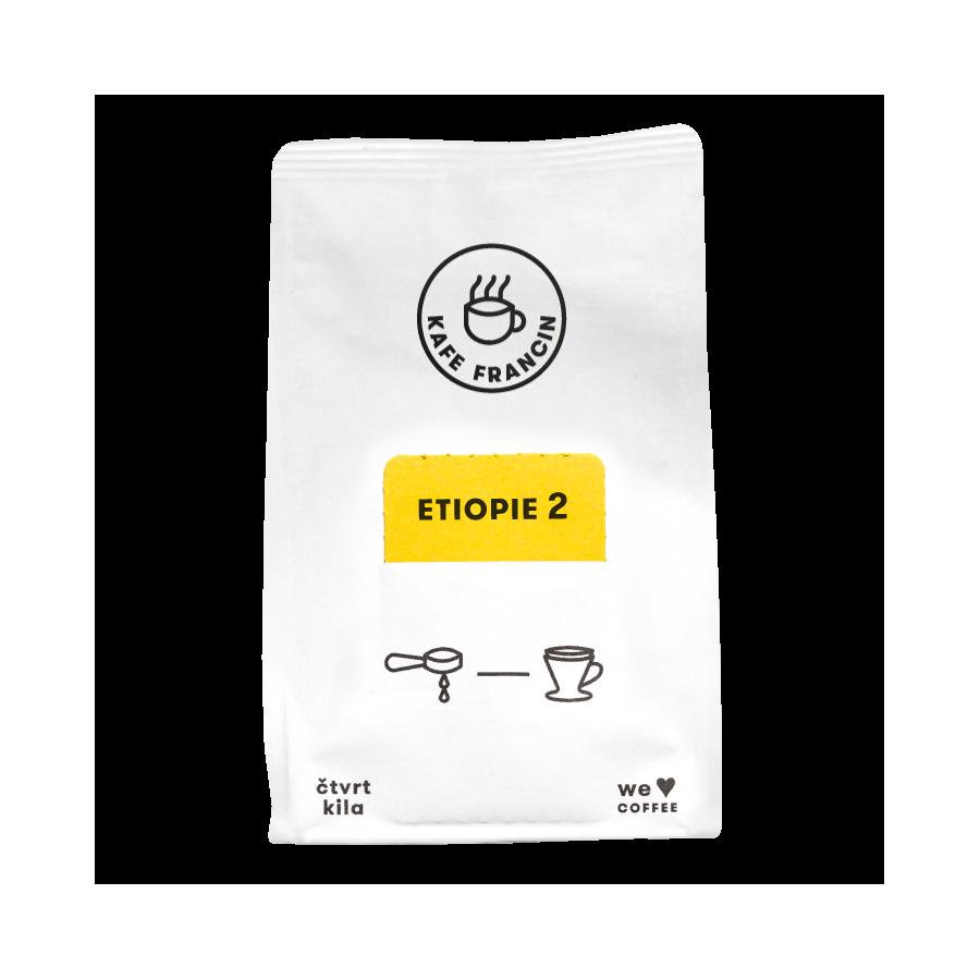 Kávé Francin Ethiopia Guji Arsosala 250g