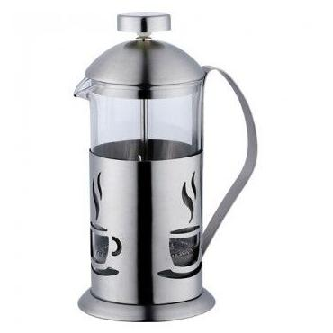 French press 350ml (stainless steel) - coffee pattern
