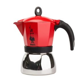 Bialetti Moka Induction 6 cups red used / discount