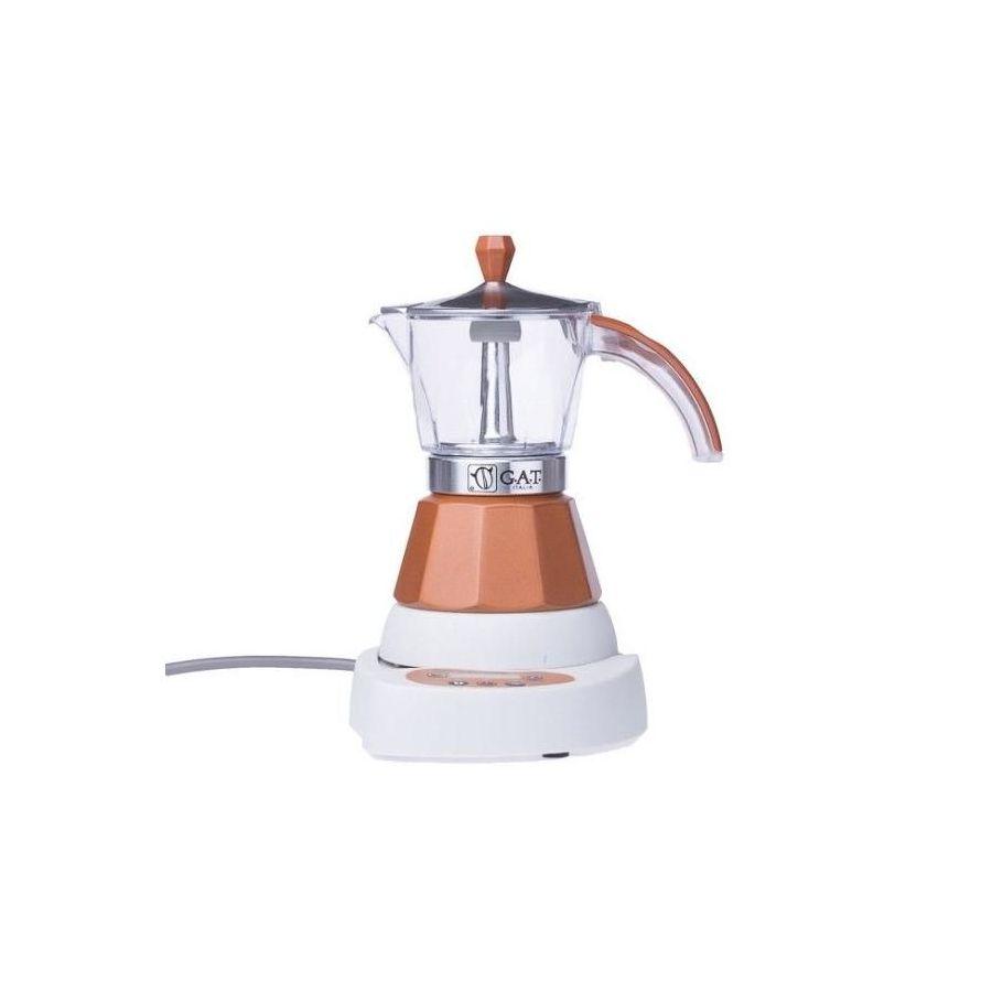 Moka kettle GAT Vintage 2-4 cups (brown) used / functional :)