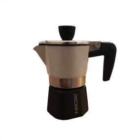 Moka kettle Pedrini 1 cup aluminum - new