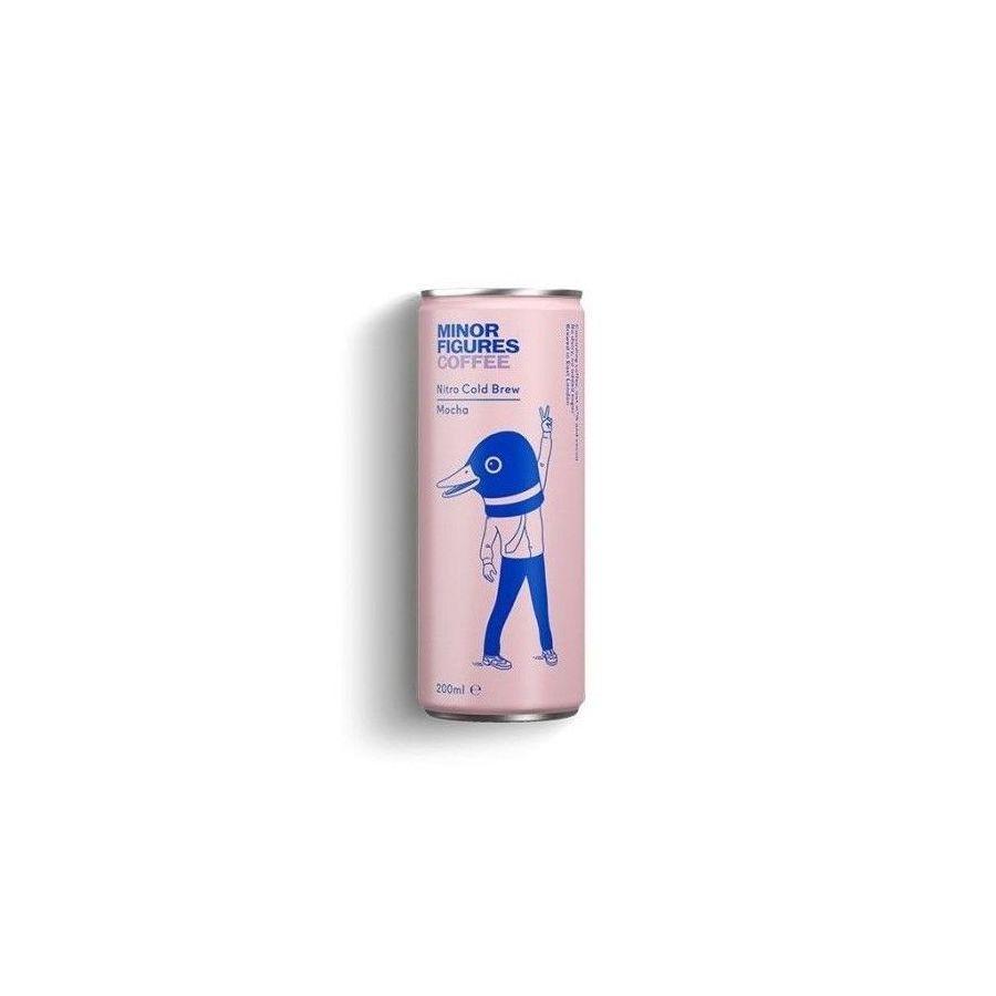 Minor Figures NITRO Cold Brew Mocha - ovesný nápoj s kávou a kakaem 0,2l