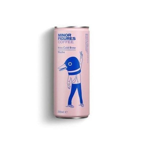 Cold Brew Mocha - ovesný nápoj s kávou a kakaem - Minor Figures Nitro