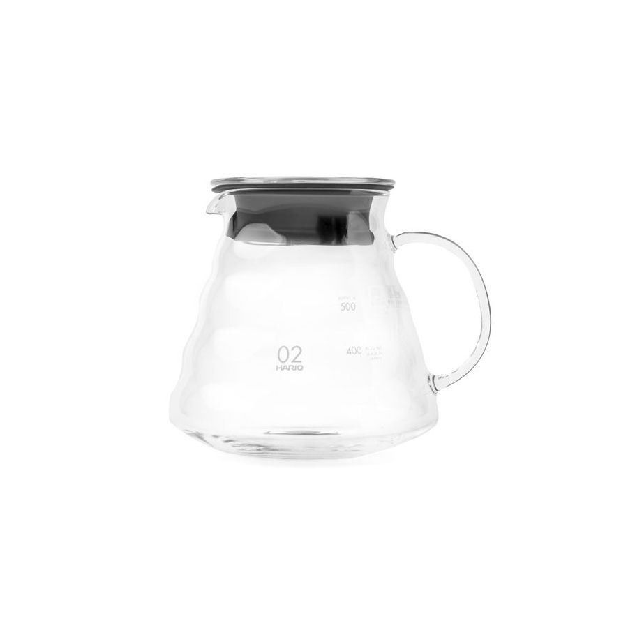 Hario V60 Range Server 600ml coffee pot - EKO BLOOM series