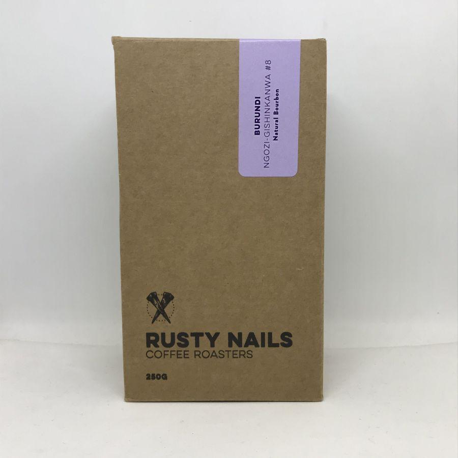 Coffee Rusty Nails Burundi Ngozi Gashinkanwa, 250g