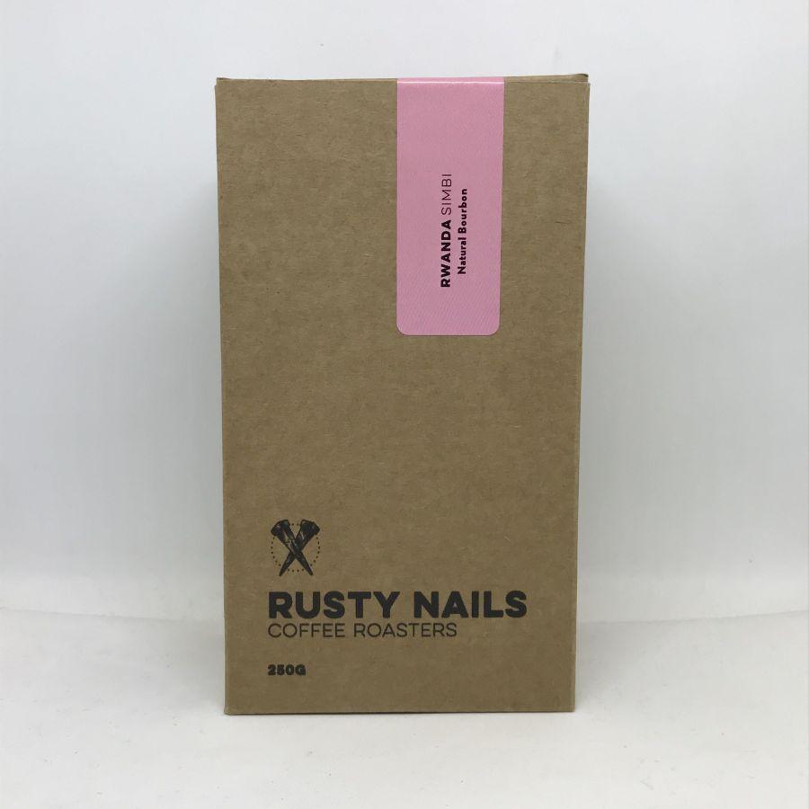 Káva Rusty Nails Rwanda Simbi, 250g