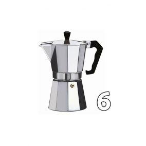 Moka kettle Kaffia 6 cups USED