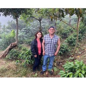 A bányászok Costa Rica Jorge Calvo és Teresita Robles 250g