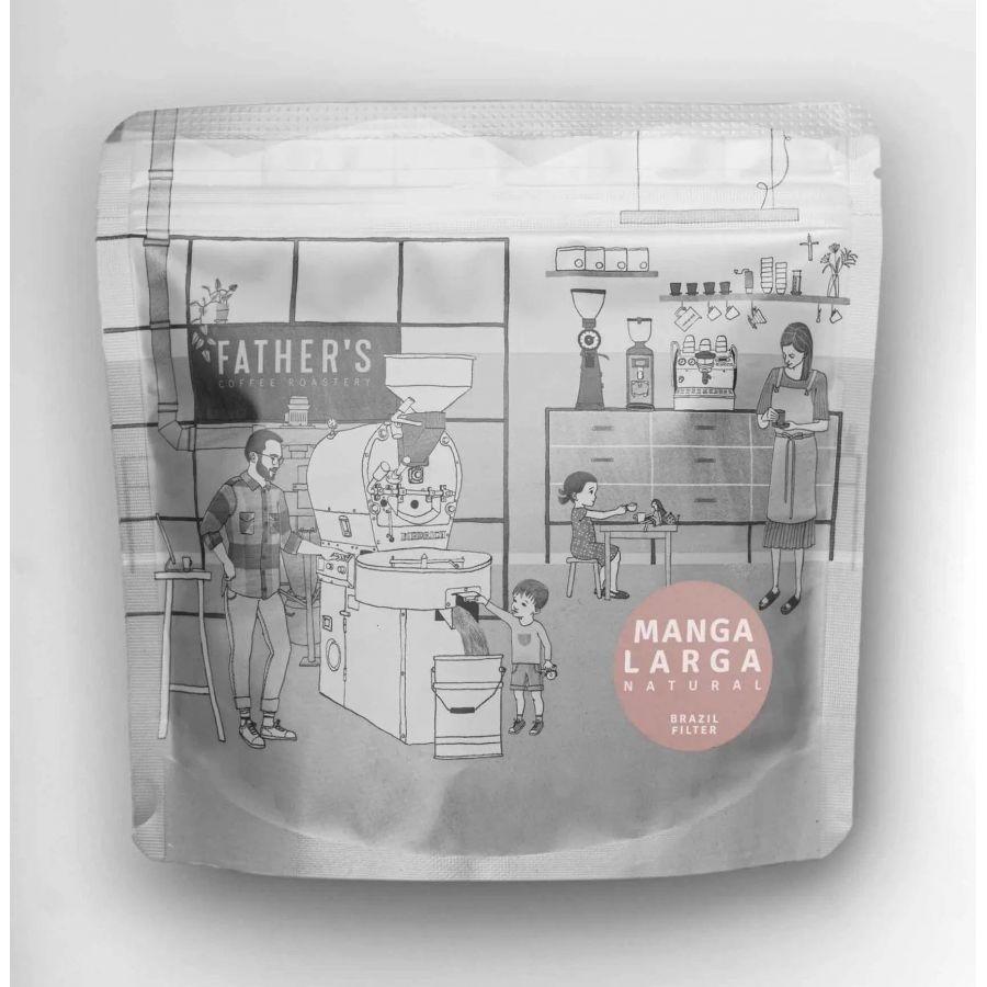 Fathers Coffee Brazilie Manga Larga 300g