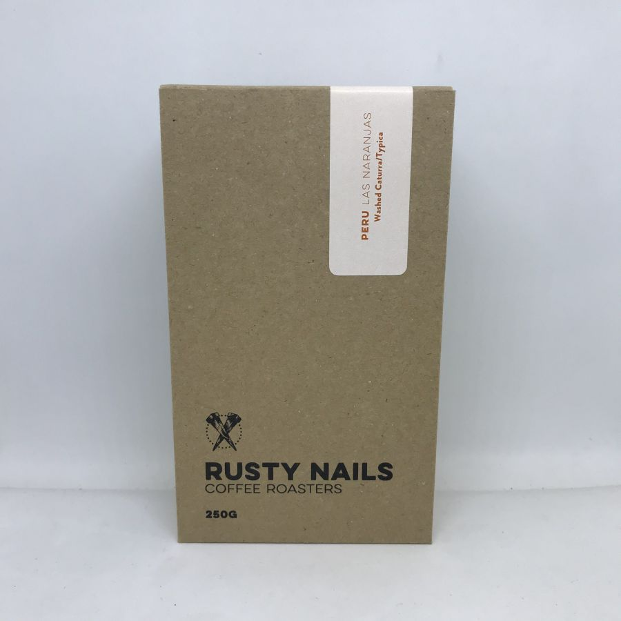 Káva Rusty Nails Peru Las Naranjas, 250g